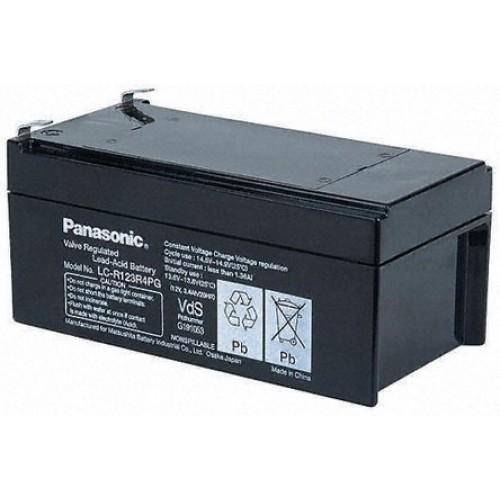 Аккумулятор свинцово-кислотный Батарея акк.свинц. 12В 3,4Ач Panasonic LC-R123R4PG