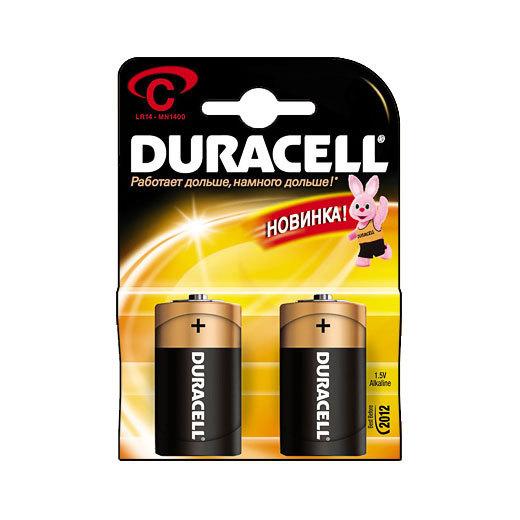 Батарейка Элемент питания DURACELL MN1400 BL2