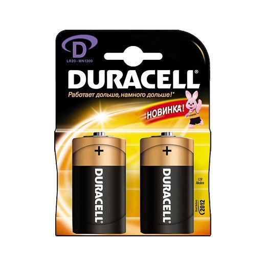 Батарейка Элемент питания DURACELL MN1300 BL2
