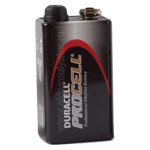 Батарейка DURACELL PROCELL MN1604STN10 Bulk16LR61