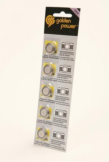 Батарейка Элемент питания Golden Power 625A BL5