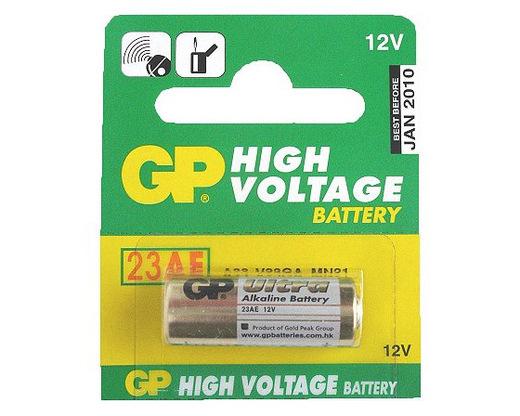Батарейка GP High Voltage 23AE-C5 23A BL5