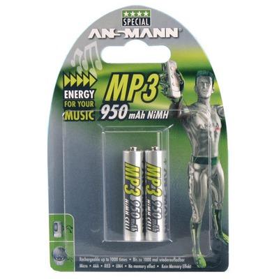 Аккумулятор цилиндрический ANSMANN 950 AAA Special 5030832 BL2 MH950AAA