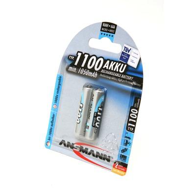 Аккумулятор цилиндрический ANSMANN 1100 AAA 5035222 BL2MH1100AAA