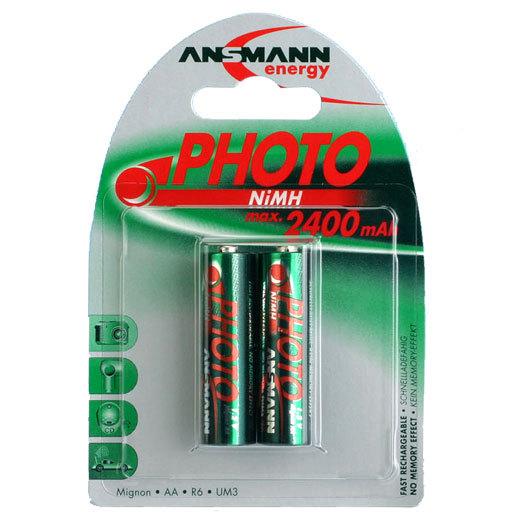 Аккумулятор цилиндрический ANSMANN 5030492 2400 AA Special BL2