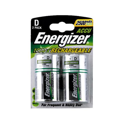 Аккумулятор для фото и видеокамер Аккумулятор Energizer D 2500 mAh BL2