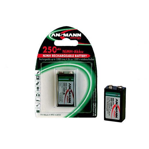Аккумулятор цилиндрический Аккумулятор ANSMANN 300 F8 5030332 BL1