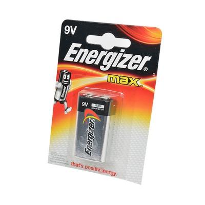 Батарейка бытовая стандартных типоразмеров Energizer MAX 6LR61 BL1