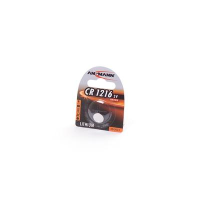 Батарейка дисковая литиевая ANSMANN 1516-0007 CR1216 BL1
