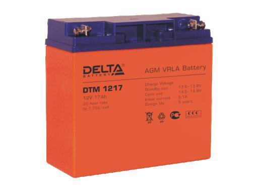 Аккумулятор DELTA DTM 1217