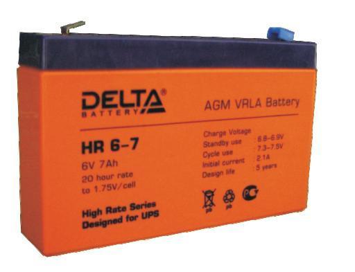 Аккумулятор DELTA HR6–7