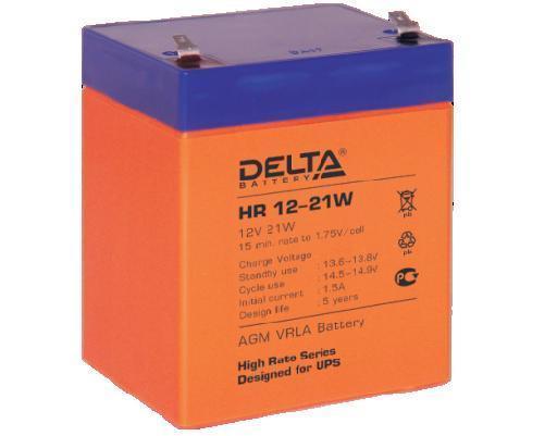 Аккумулятор DELTA HR12–21W