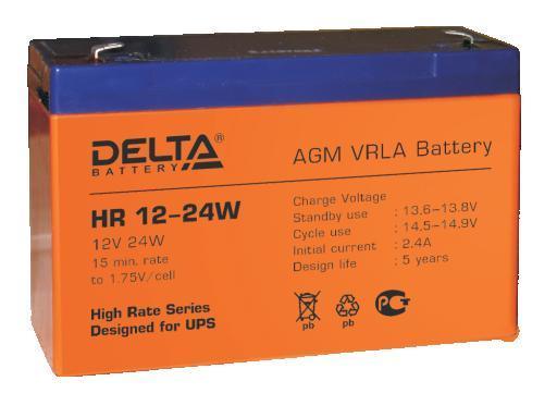 Аккумулятор DELTA HR12–24W