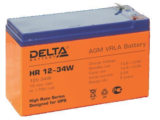 Аккумулятор DELTA HR12–34W
