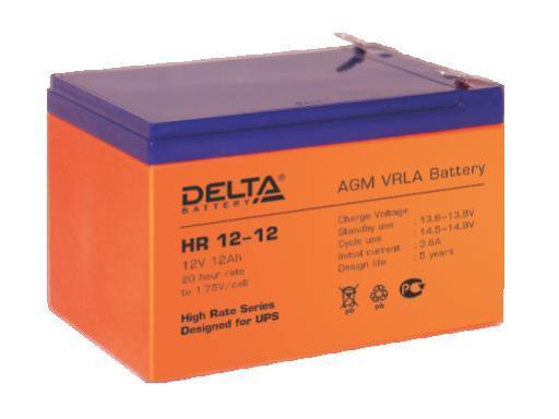 Аккумулятор DELTA HR12–12