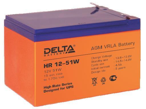 Аккумулятор DELTA HR12–51W