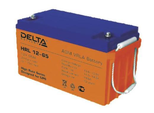 Аккумулятор Свинцово кислотный аккумулятор, буферный DELTA HRL12–65