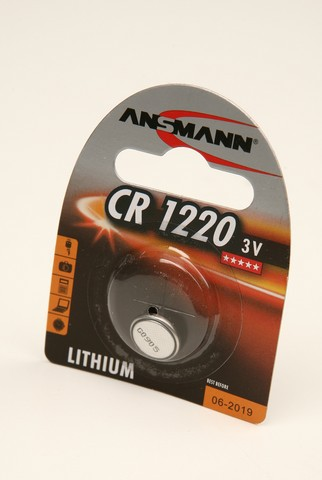 Батарейка Элемент питания ANSMANN CR1220 5020062 BL1