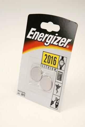 Батарейка Элемент питания Energizer CR2016 BL2