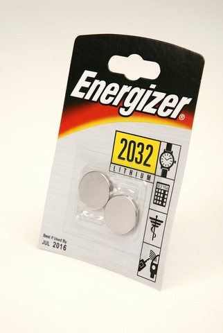 Батарейка Элемент питания Energizer CR2032 BL2