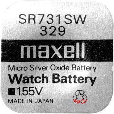 Батарейка Элемент питания MAXELL SR731SW 329