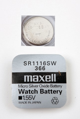 Батарейка Элемент питания MAXELL SR1116SW 366