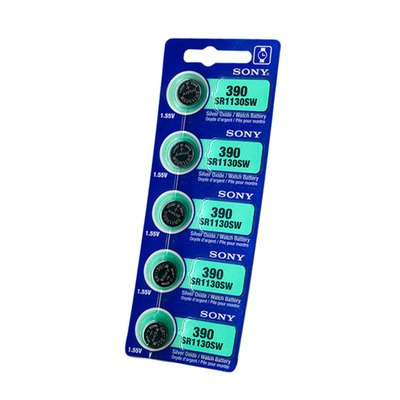 Батарейка SONY SR1130SW 390 BL5 S1130L-SG10
