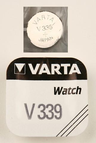 Батарейка Элемент питания VARTA 339