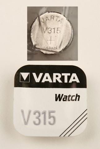 Батарейка Элемент питания VARTA 315