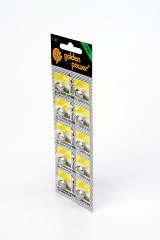 Батарейка Элемент питания Golden Power G6 370A BL10