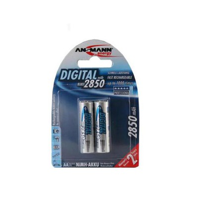 Аккумулятор цилиндрический ANSMANN 2850 AA Professional BL2 5035202