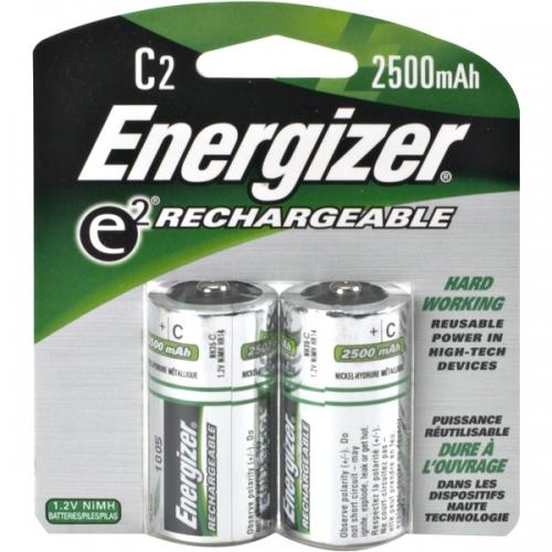 Аккумулятор цилиндрический Аккумулятор Energizer C 2500 mAh BL2