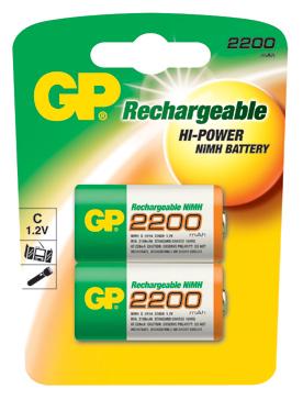 Аккумулятор цилиндрический Аккумулятор GP 220CH BL2
