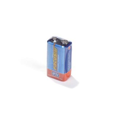 Батарейка бытовая стандартных типоразмеров FOCUSray Dynamic Power 621275 6F22 SR1, в упак 12 шт