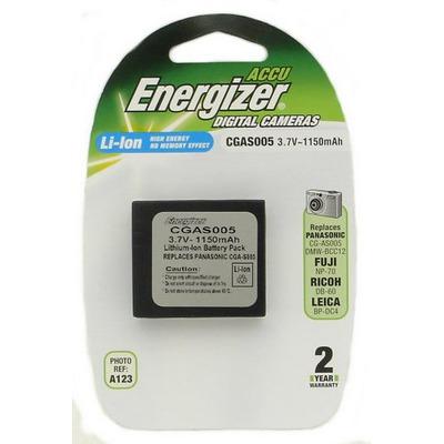 Аккумулятор для фото и видеокамер Energizer CGAS005 (Panasonic CGA-S005E) цифр.ф/ап P/Li1150/3.7V