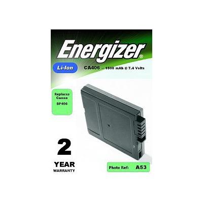 Аккумулятор для фото и видеокамер Energizer CA406 (Canon BP-406) в/камеры BL1 С/Li 1500/7.4V
