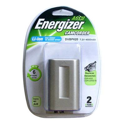 Аккумулятор для фото и видеокамер Energizer DVBP620 (Panasonic CGR-V620) в/камеры BL P/Li4000/7.2V