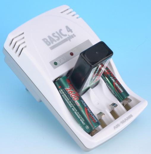Зарядное устройство Зарядное устройство ANSMANN BASIC 4 plus 5107343 BL1