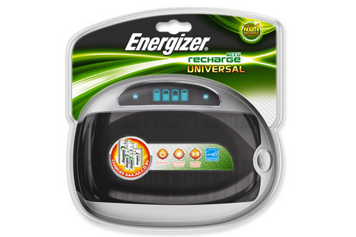 Зарядное устройство Зарядное устройство Energizer Universal Charger CLAM 629875/632959 BL1