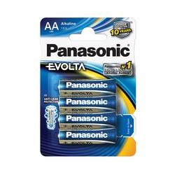 Батарейка бытовая стандартных типоразмеров Panasonic EVOLTA LR6EGE/4BP LR6 BL4