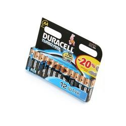 Батарейка бытовая стандартных типоразмеров DURACELL TURBO MAX LR6 BL12
