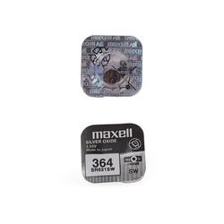 Батарейка серебряно-цинковая часовая MAXELL SR621SW 364 (RUS), в упак 10 шт