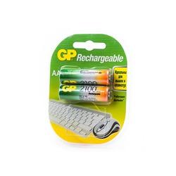 Аккумулятор бытовой GP 210AAHC-U2 HR6 BL2