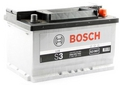 Аккумулятор автомобильный Аккумулятор Bosch S3 56 Ач 480 А прямая полярность S3006 556401 C15 242*175*190