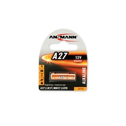 Батарейка спецэлемент ANSMANN 1516-0001 A27 BL1