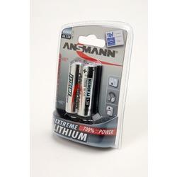 Батарейка бытовая стандартных типоразмеров ANSMANN EXTREME LITHIUM 5021003 FR6 BL2