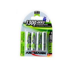 Аккумулятор предзаряженный ANSMANN maxE 1300 AA BL4 5030792