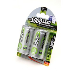 Аккумулятор предзаряженный ANSMANN maxE 5000 D BL2 5030922