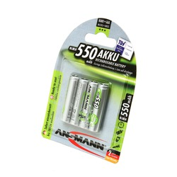 Аккумулятор предзаряженный ANSMANN maxE AAA 550 BL4 5030772