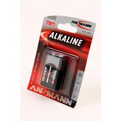 Батарейка бытовая стандартных типоразмеров ANSMANN RED 1515-0000 6LR61 BL1